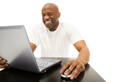 Excited Computer User
